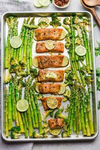 Baked Chili Lime Salmon
