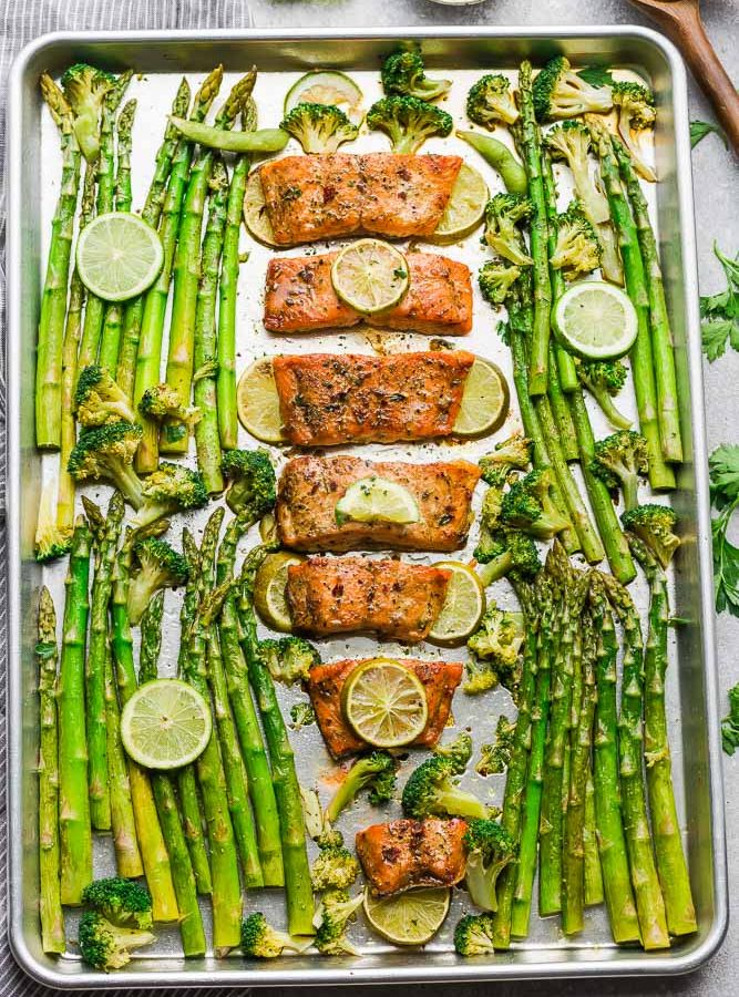 Chili Lime Salmon is the perfect easy weeknight meal. Best of all, it's fresh, flavorful and super delicious and comes together in less than 30 minutes. Made with tangy lime, chili powder andfresh parsley.