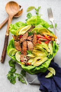 Keto Steak Salad