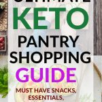 KETO PANTRY GUIDE