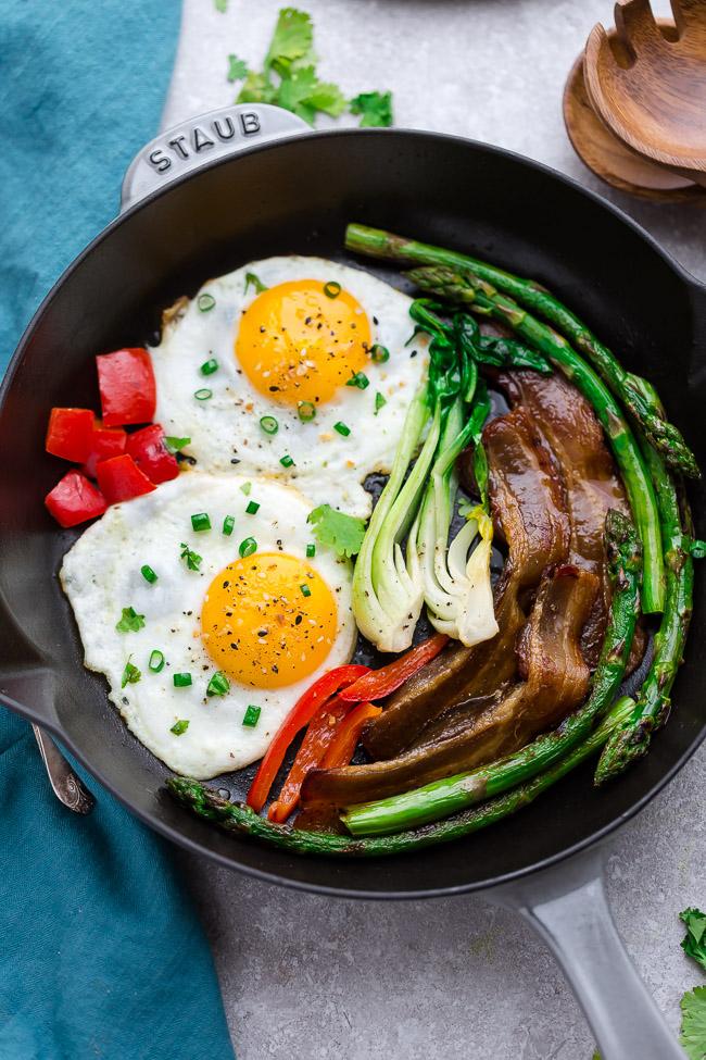 Keto Asparagus Recipes Skillet