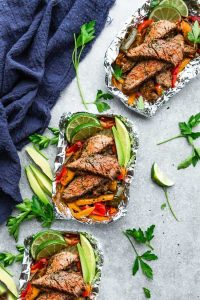 Chili Lime Steak Foil Packs
