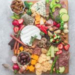 Low Carb Cheese Board – perfect low carb and keto-friendly party appetizer trays- 2 ways – that you can make in less than 20 minutes. Tips and tricks you need to know to easily build an awesome charcuterie board/