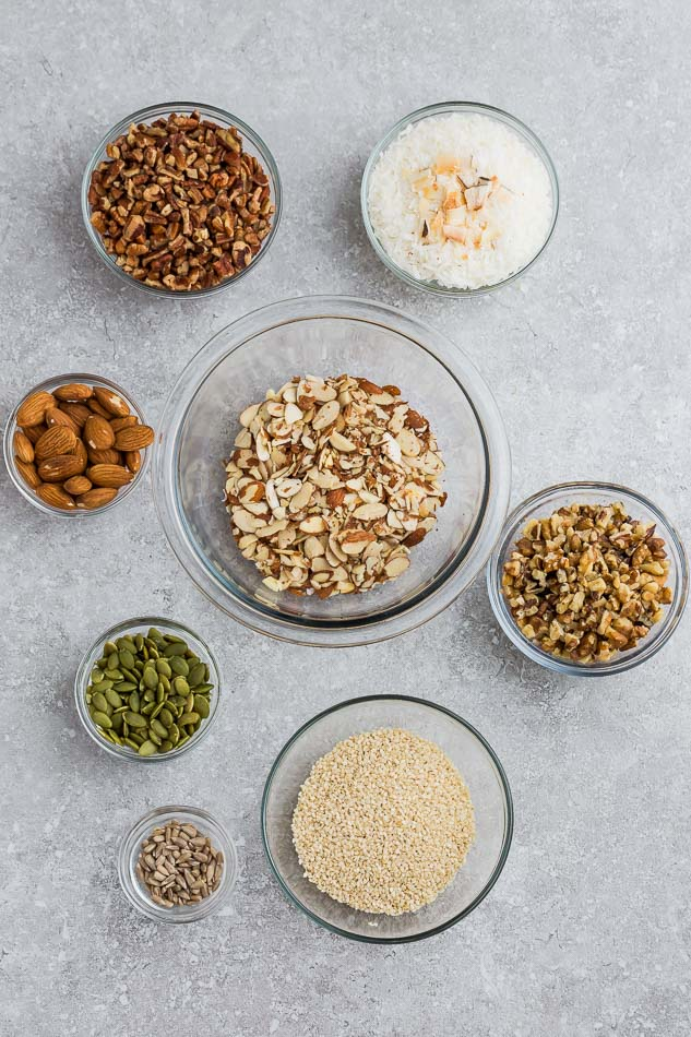 WHAT INGREDIENTS DO I NEED TO MAKE LOW CARB PROTEIN BARS?