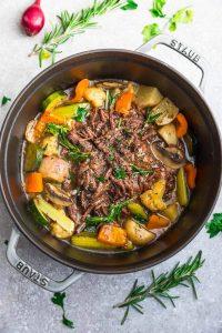 Low Carb Pot Roast