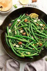 Skillet Green Beans