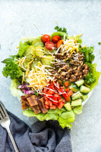 Low Carb Burger Bowl